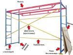 Сборка строительных лесов инструкция – схема и инструкция по сборке лесов
