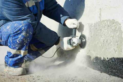 Стачивание бетона бетонные смеси технология
