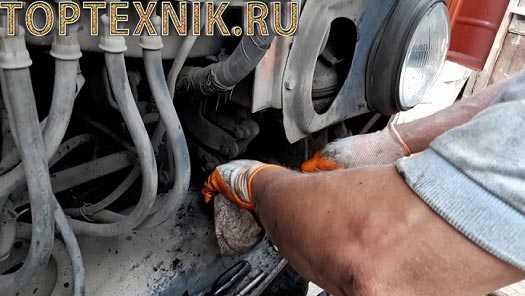 Как прокачать осуществить ремонт и регулировку ГУР гидроусилителя руля на КАМАЗе